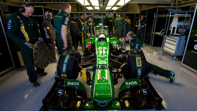 Giedo gets more seat time