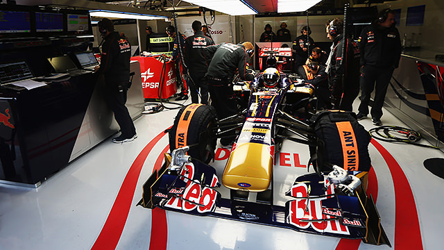 Time out at Toro Rosso