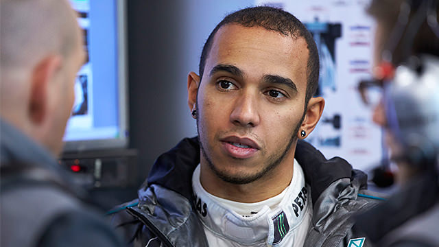 Hamilton tops the times as first Barcelona test comes to a close