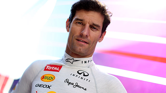 Backed by Infiniti, Webber in Jerez
