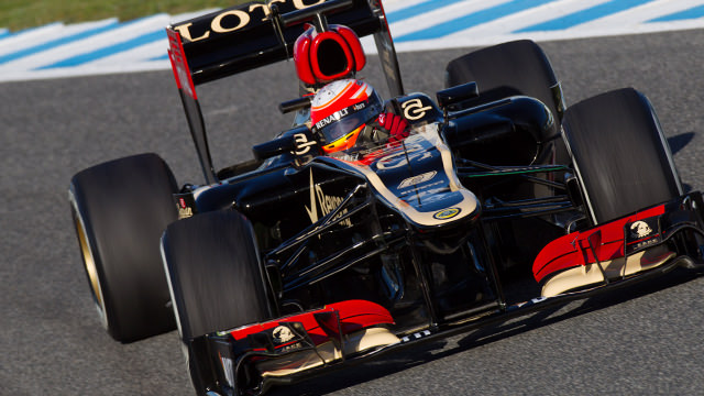 Day two goes to plan for Grosjean