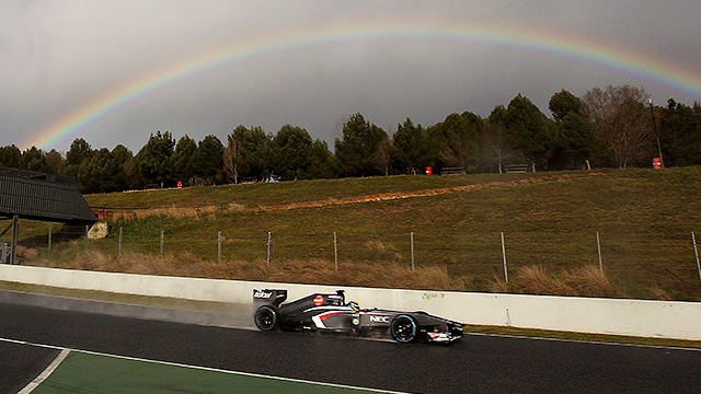 Gutiérrez chasing Sauber's pot of gold