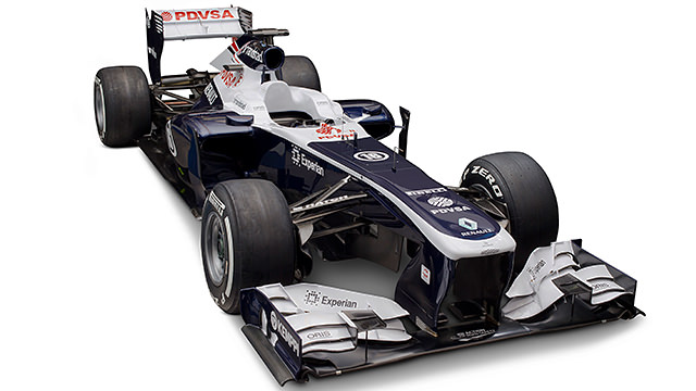 Williams launch the FW35 with a new sponsor on board