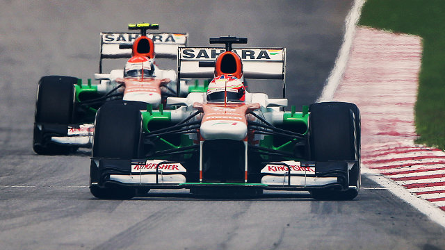 Force India renew engine deal with Mercedes for 2014