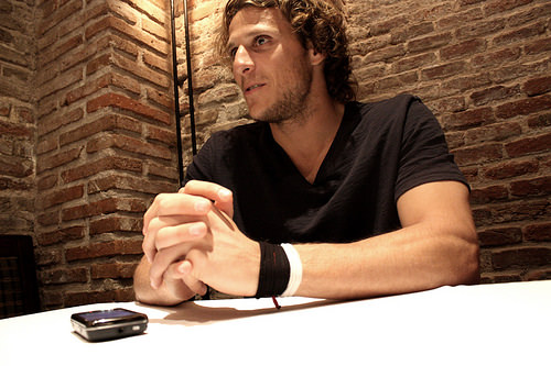 Sidepodcast F1: Diego Forlán, with added mobile phone