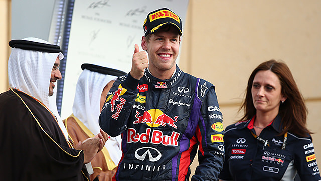 Sebastian Vettel sails to easy victory in Bahrain