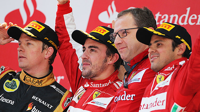 Fernando Alonso scoops home victory in front of Spanish crowd