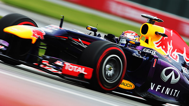 Sebastian Vettel takes Canadian pole, as Massa crashes out