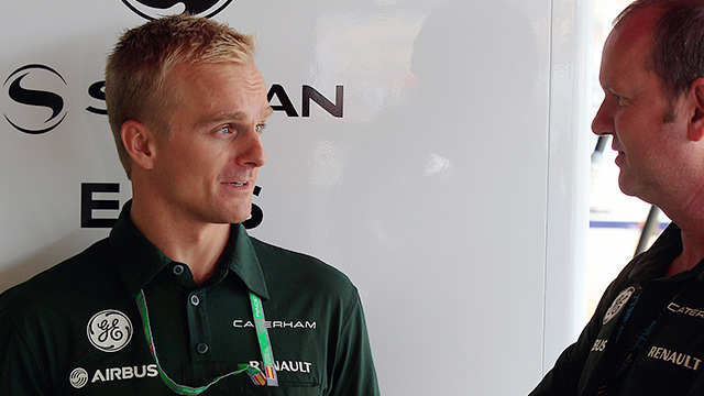 Kovalainen, back by popular demand