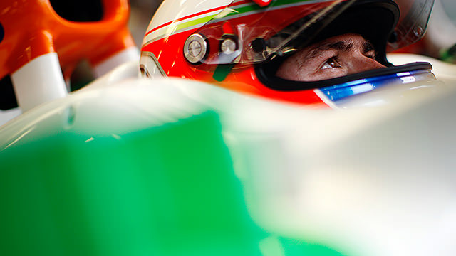 Paul di Resta excluded from qualifying for British Grand Prix