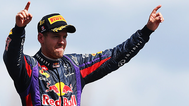 Sebastian Vettel signs a one-year extension with Red Bull