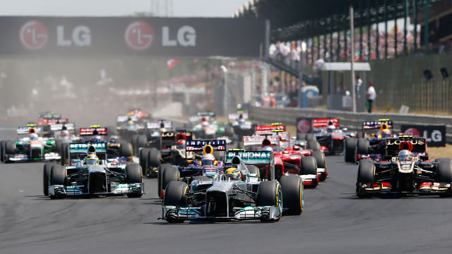 Lewis Hamilton turns pole into first Mercedes victory