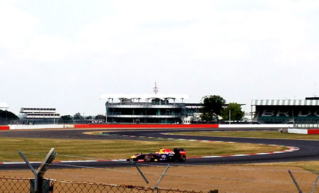 Red Bull at Luffield