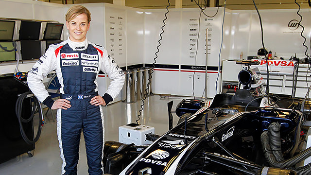 Susie Wolff to drive the FW35 at Silverstone test