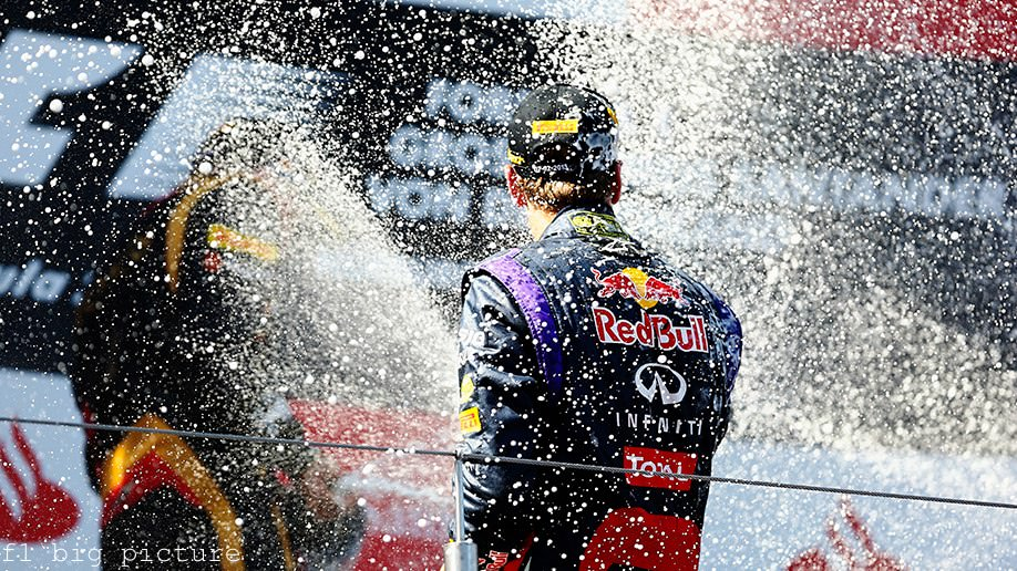 Sebastian Vettel finally wins an F1 race in Germany