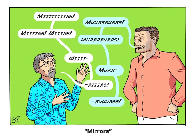 Eddie and DC: Mirrors