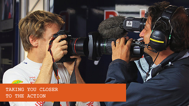 Camera operators - bringing F1 closer to fans worldwide