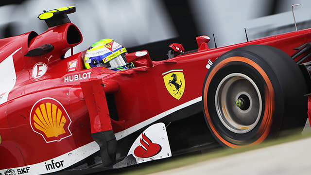Massa says goodbye to Scuderia Ferrari