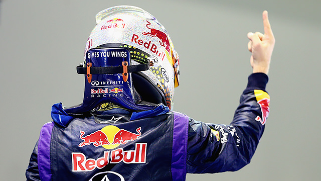 Sebastian Vettel wins safety-car hit Singapore race