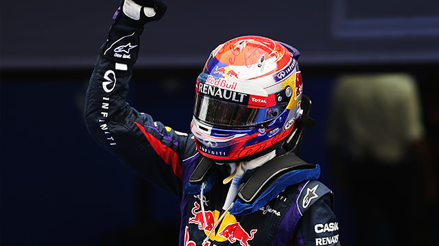 Vettel wins a chaotic Korean race with two safety car periods