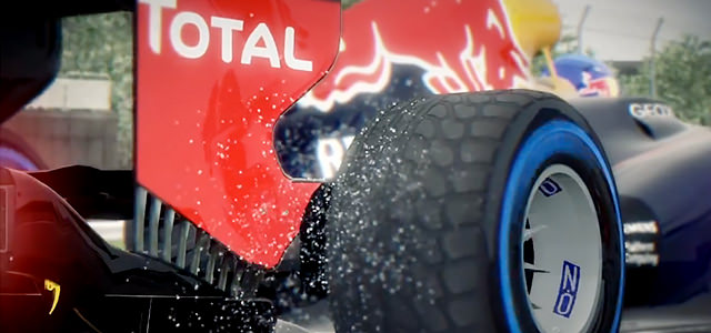 Red Bull slo-mo from F1 2013