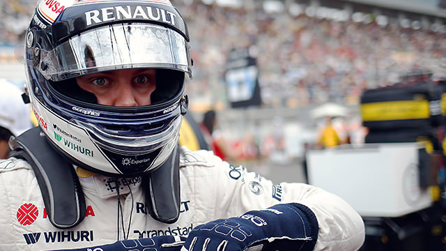 The gloves are off for Bottas