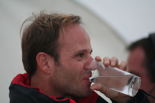 Rubens Barrichello during BBC Radio 5 Live Interview