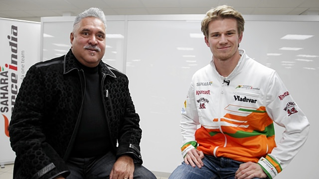 Nico Hülkenberg returns to Force India for 2014