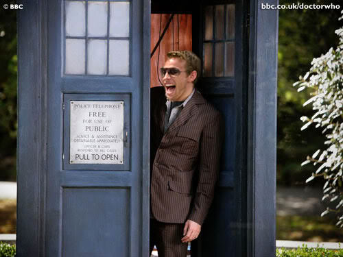 Dr Who / Jenson Button