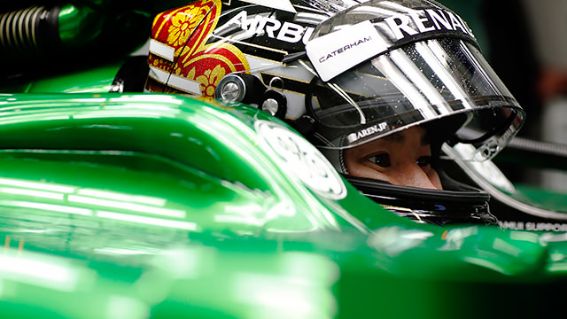 Kamui's comeback with Caterham