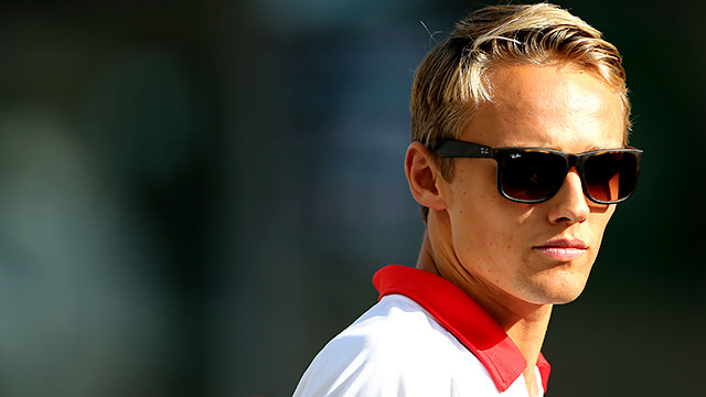 Max Chilton re-signs for Marussia in 2014