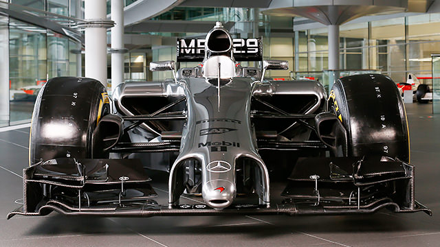 McLaren launch MP4-29 and reveal sparse livery
