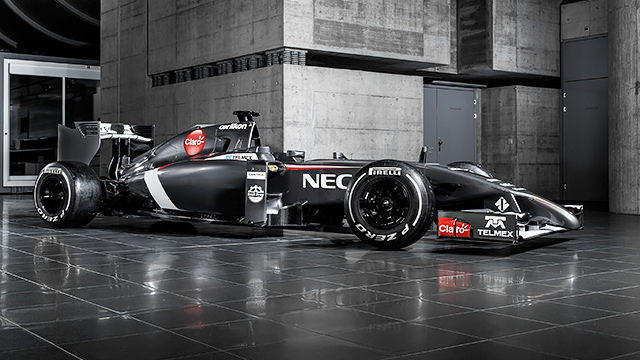 Sauber unveil C33 in online launch