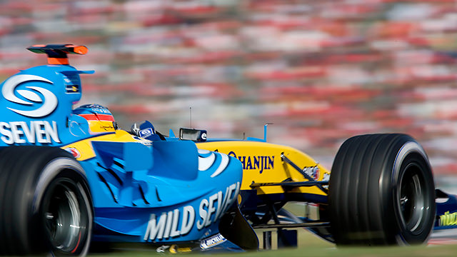 Alonso decimates the field in Japan