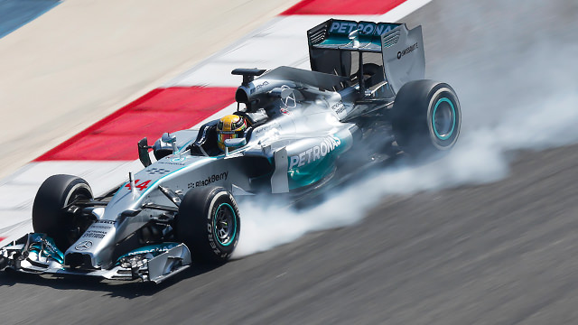 Hamilton goes faster and faster