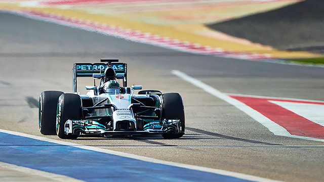 Long runs on Mercedes' menu