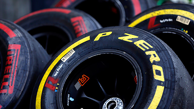 The Pirelli rubber is race simulation ready