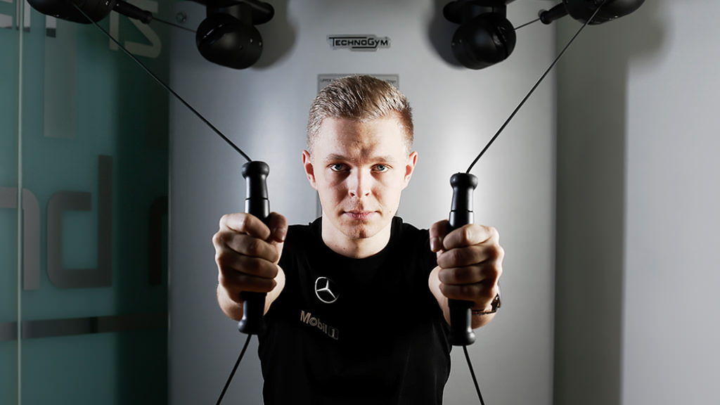 Kevin Magnussen puts in the hours ahead of F1 debut