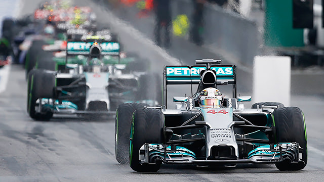 Hamilton makes it two for two with Malaysia pole position