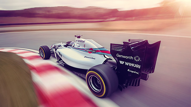 "Williams sign title partner Martini to ""put the stripes back on the grid"""