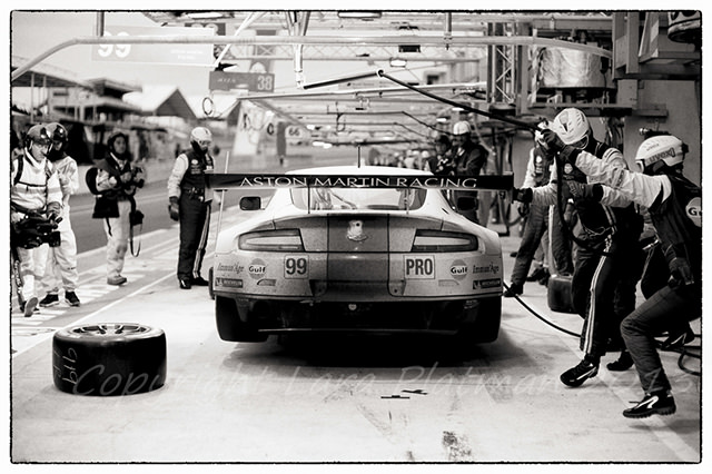 Aston Martin Racing at Le Mans