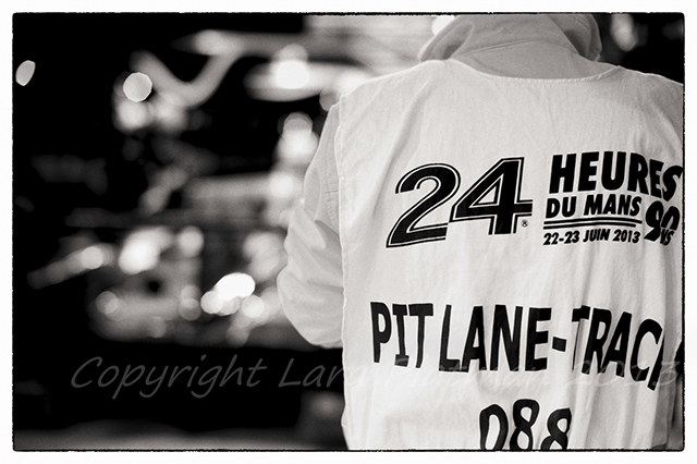 Tabard at Le Mans