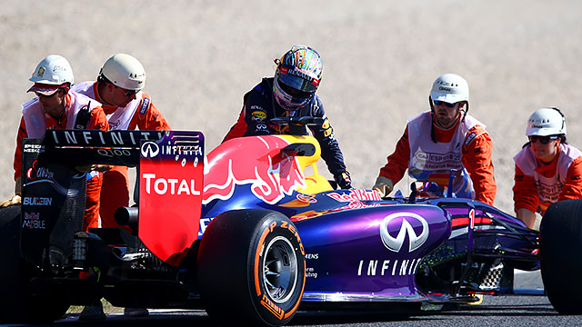 Vettel sits out FP2 in Spain as Mercedes lead the way