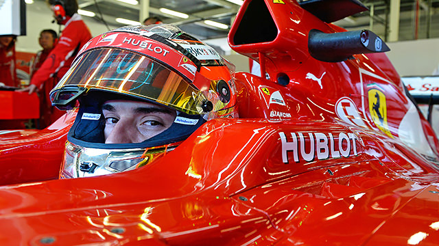 Ferrari and Williams on top at Silverstone test