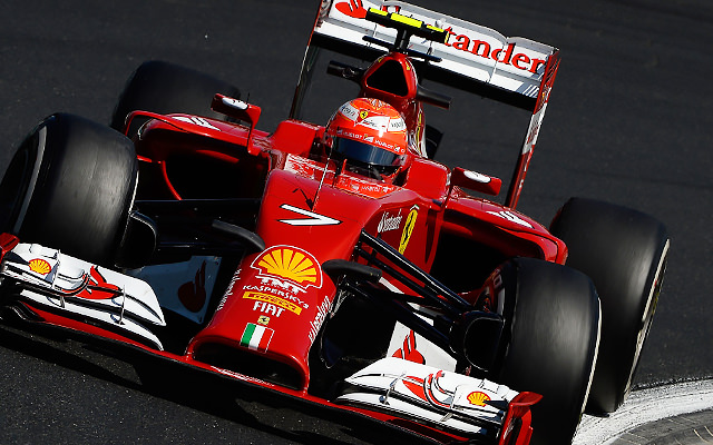 With his tyres worn, Räikkönen was unable to hold off former teammate Massa