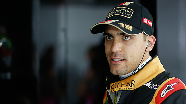 Pastor Maldonado confirmed at Lotus for 2015