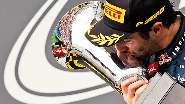 Daniel Ricciardo takes second F1 victory in Hungary