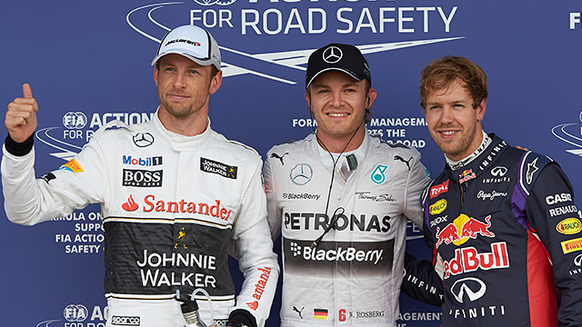 Top three in Silverstone on Saturday