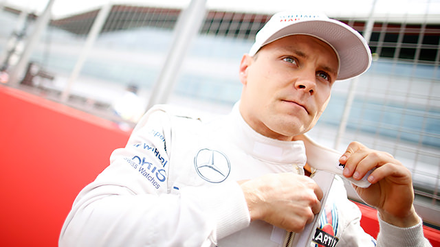 Bottas took a car a lap in the early stages
