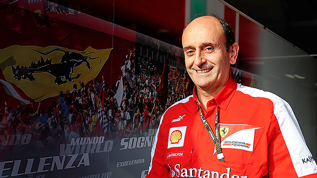 Technical reshuffle at Ferrari sees Luca Marmorini's departure